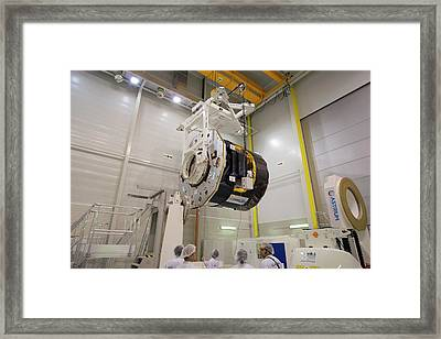 Gaia Space Probe Testing Framed Print by S Corvaja/european Space Agency
