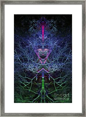 Gaia Framed Print by Tim Gainey