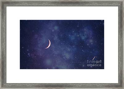 Galactic Show Framed Print by Rima Biswas