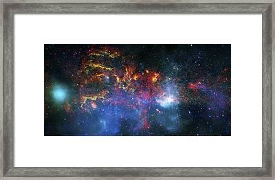 Galactic Storm Framed Print by Jennifer Rondinelli Reilly - Fine Art Photography