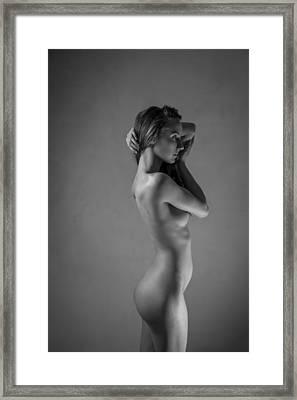 Galatea Framed Print by Blue Muse Fine Art