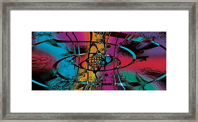 Galaxia Framed Print by Levi Sullivan