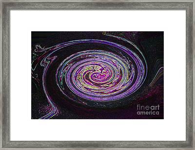 Galaxy Birth 2 Fetal Framed Print by First Star Art
