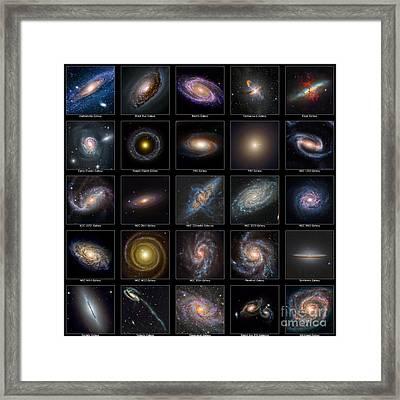 Galaxy Collection Framed Print by Antony McAulay