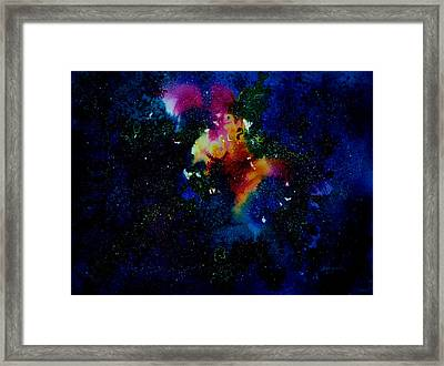 Galaxy I Framed Print by Isabel Salvador