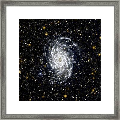 Galaxy Ngc 6744 Framed Print by Nasa