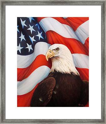 Gallantly Streaming-2 Framed Print by ArtLoft - Southern California