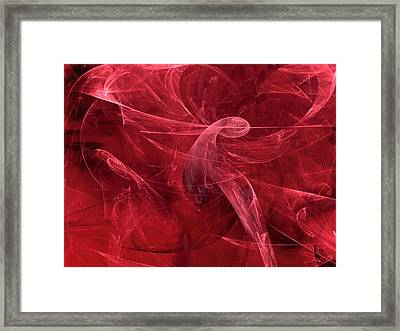 Gallery Of Screams Framed Print by Jeff Iverson