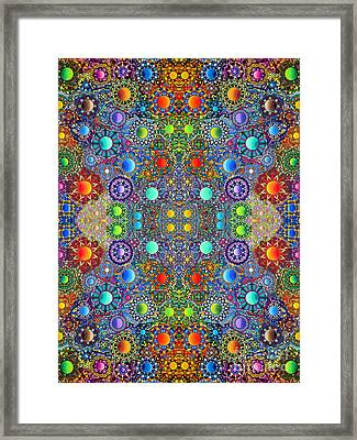 Gallimaufry Framed Print by Devin  Cogger