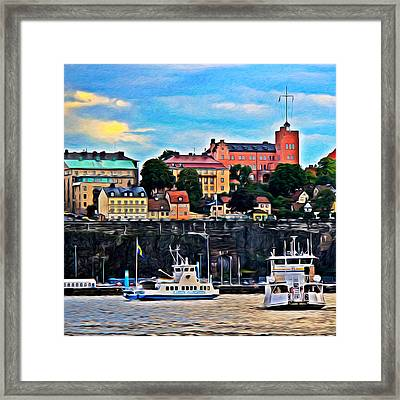 Gallows Hill Framed Print by Auntieblues