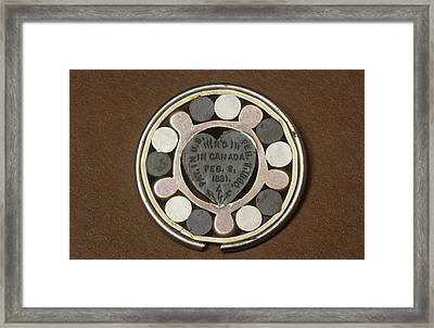 Galvanic Pendant Framed Print by Science Photo Library
