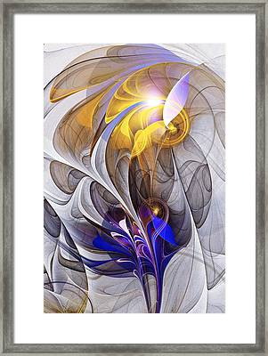 Galvanized Framed Print by Anastasiya Malakhova
