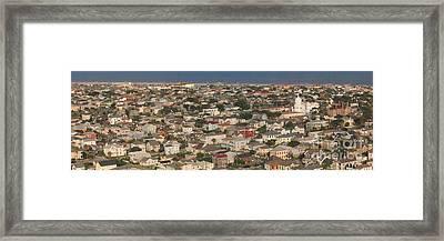 Galveston Overview Framed Print by Barbara Rabek