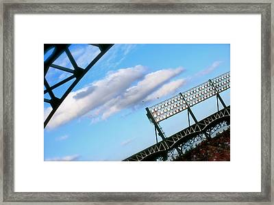 Game Day Framed Print by Jon Berry