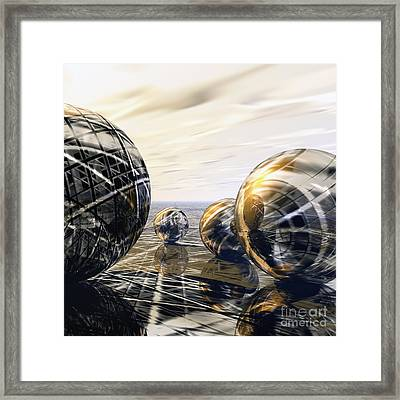 Game Framed Print by Diuno Ashlee