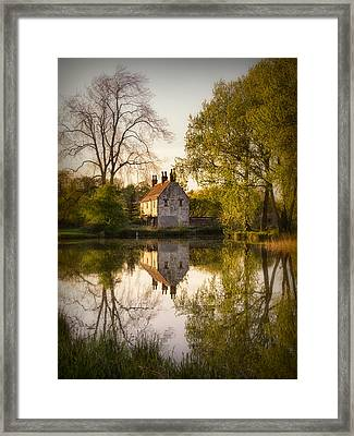Game Keepers Cottage Cusworth Framed Print by Ian Barber