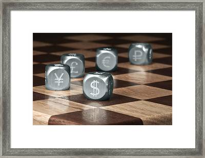 Game Of Chance Framed Print by Tom Mc Nemar