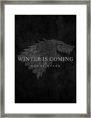 Game Of Thrones Framed Print by Mike Taylor