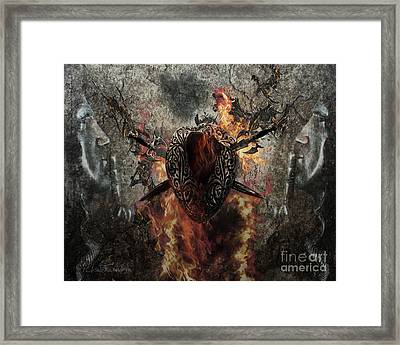 Game Over Framed Print by Betta Artusi