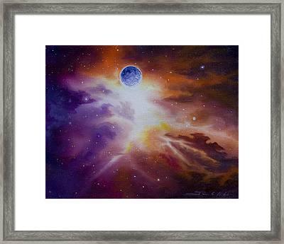 Gamma Nebula Framed Print by James Christopher Hill