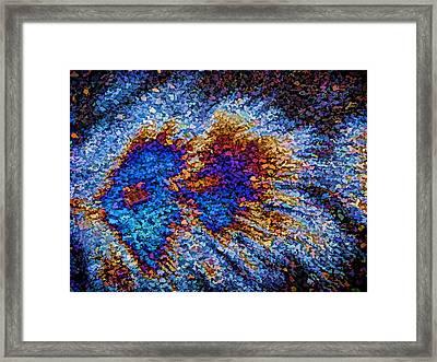 Gamma Ray Burst II Framed Print by Samuel Sheats