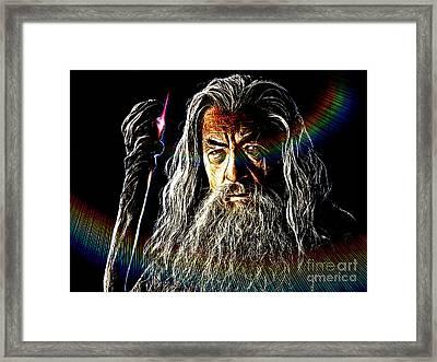 Gandalf Framed Print by The DigArtisT