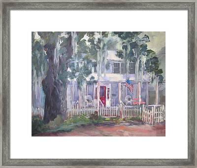 Gander House Framed Print by Susan Richardson