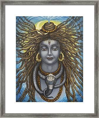 Gangadhara Shiva Framed Print by Vrindavan Das