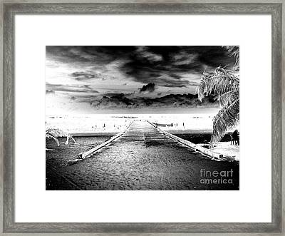 Gangplank Of Perfection Infrared Extreme Framed Print by Heather Kirk