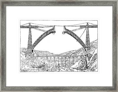 Garabit Viaduct Framed Print by Science Photo Library