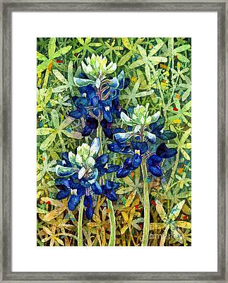 Garden Jewels I Framed Print by Hailey E Herrera