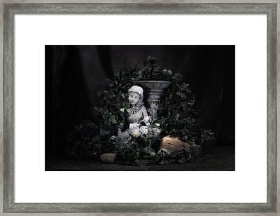 Garden Maiden Framed Print by Tom Mc Nemar