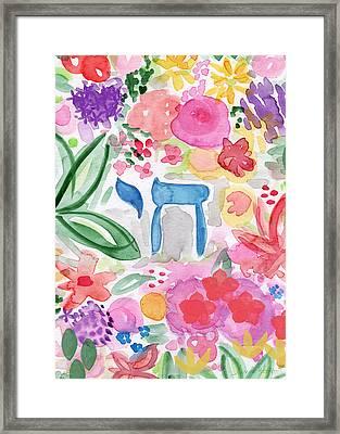 Garden Of Life Framed Print by Linda Woods