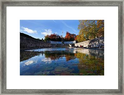Garden Of Remembrance, Parnell Square Framed Print by Panoramic Images