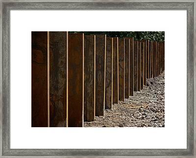 Garden Of Rust Framed Print by Odd Jeppesen