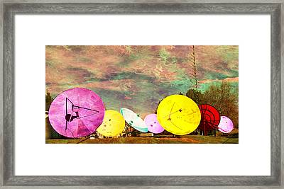 Garden Of Unearthly Delights II Framed Print by MJ Olsen