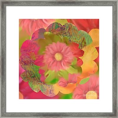 Garden Party Framed Print by Christine Fournier