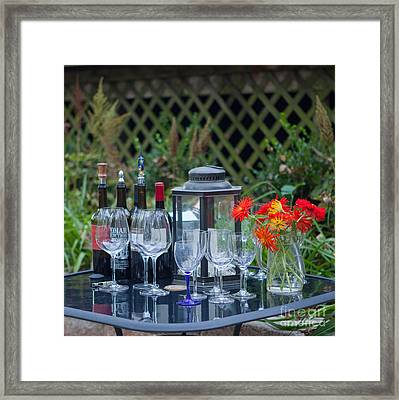 Garden Pary Framed Print by Kay Pickens