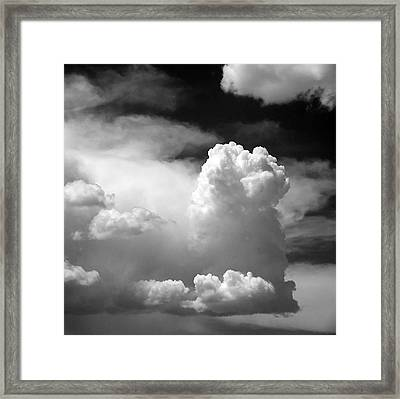 Garfield In The Skies Framed Print by Christine Till