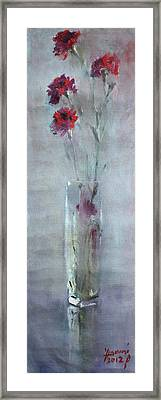 Garofano Per Lei Framed Print by Ylli Haruni