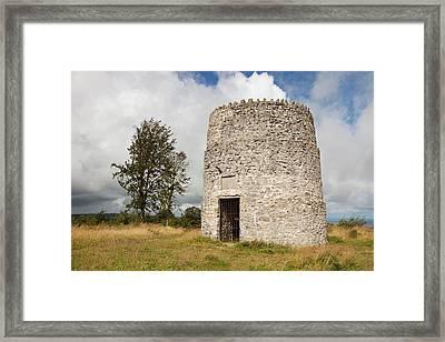 Garreg Tower Framed Print by Ashley Cooper