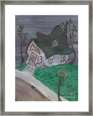 Gaslight Whimsy Framed Print by Robert Meszaros