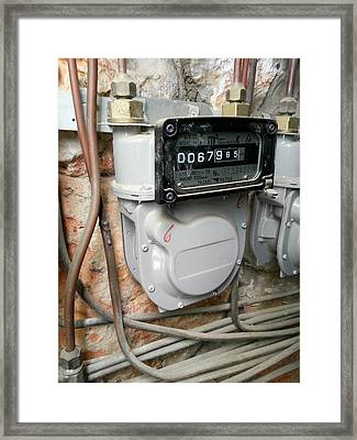 Gasometer Framed Print by Photostock-israel