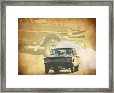 Gassers Framed Print by Steve McKinzie