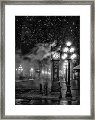 Gastown Steam Clock Framed Print by Alexis Birkill