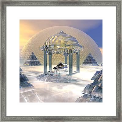 Gate To Heaven Framed Print by Diuno Ashlee