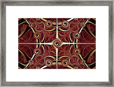 Gates Of Balance Framed Print by Anastasiya Malakhova