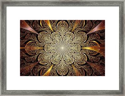 Gates Of Light Framed Print by Anastasiya Malakhova