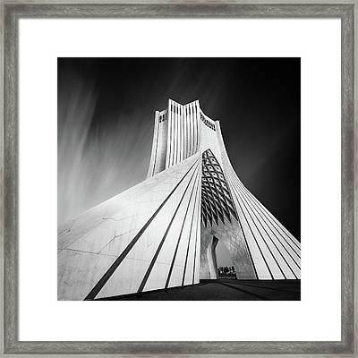 Gateway Into Iran Framed Print by Mohammad Rafiee