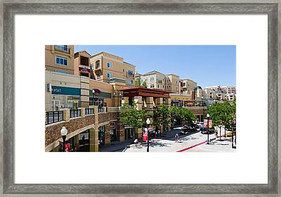Gateway Shopping Center, Downtown Salt Framed Print by Panoramic Images